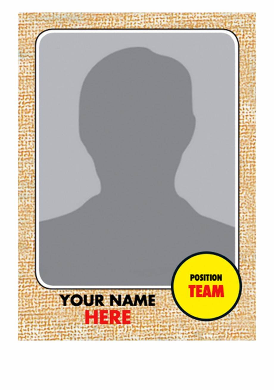 Baseball Trading Card Template 91481 - Baseball Card with Baseball Card Size Template