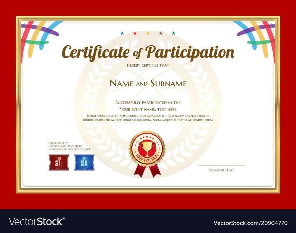 Basketball Camp Certificate Template - Atlantaauctionco With Basketball Camp Certificate Template