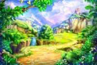 Beautiful Cartoon Background Impremedia – Pptstudios.nl inside Fairy Tale Powerpoint Template