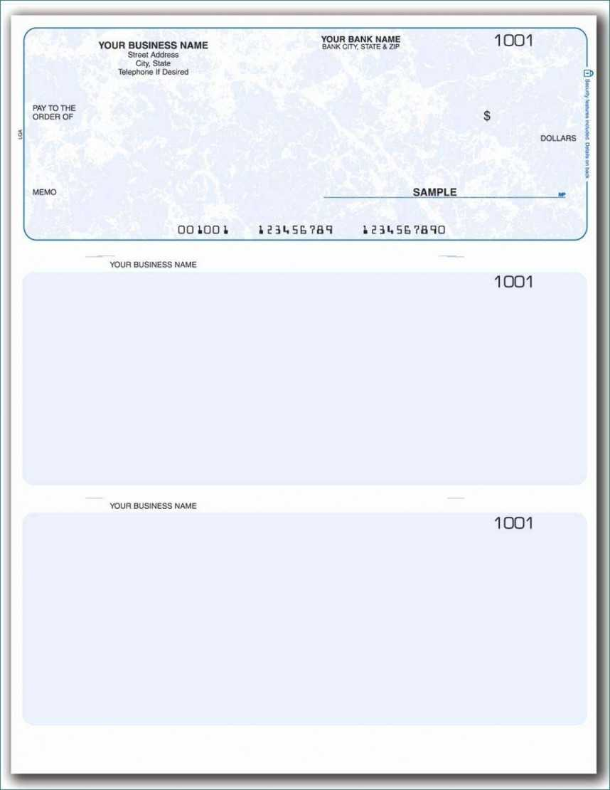 Beautiful Quickbooks Check Printing Template Ideas ~ Thealmanac Within Print Check Template Word