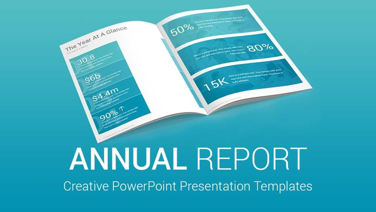 Best Annual Report Powerpoint Presentation Templates Designs within Annual Report Template Word Free Download