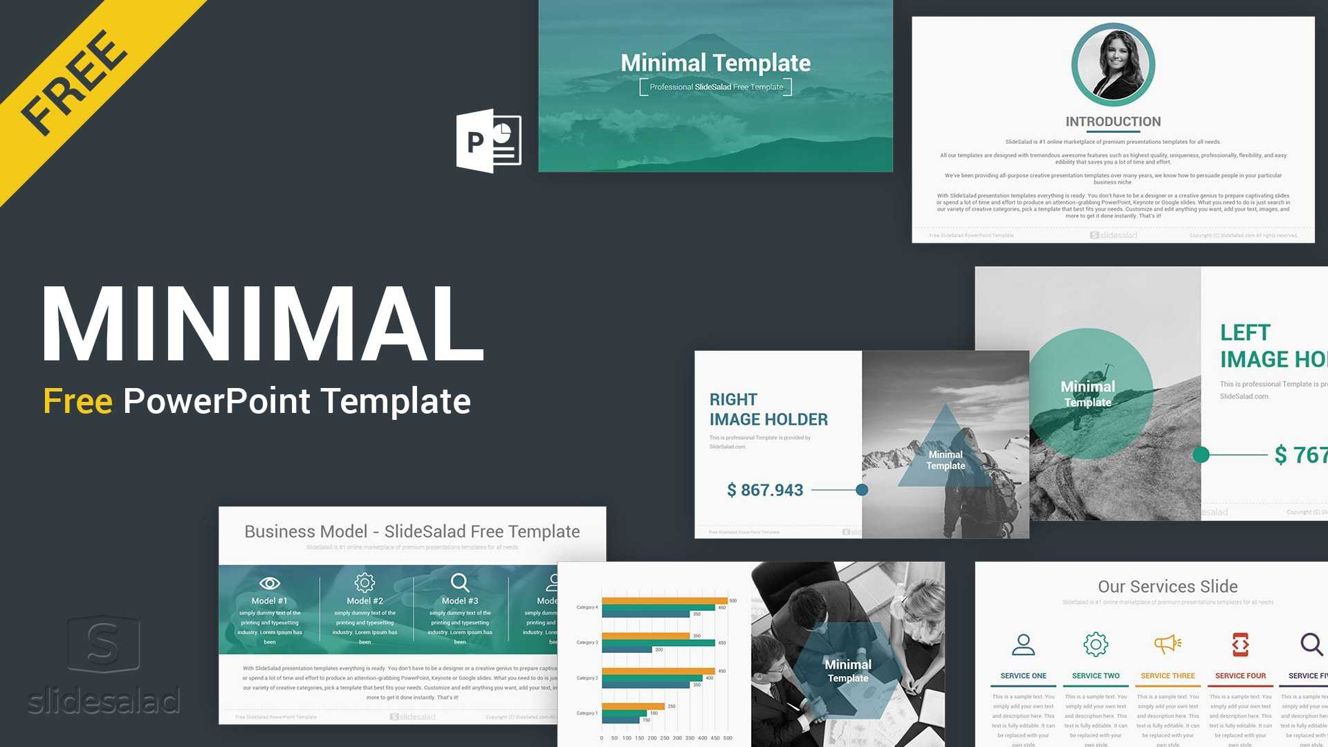 Best Free Presentation Templates Professional Designs 2019 in Powerpoint Photo Slideshow Template