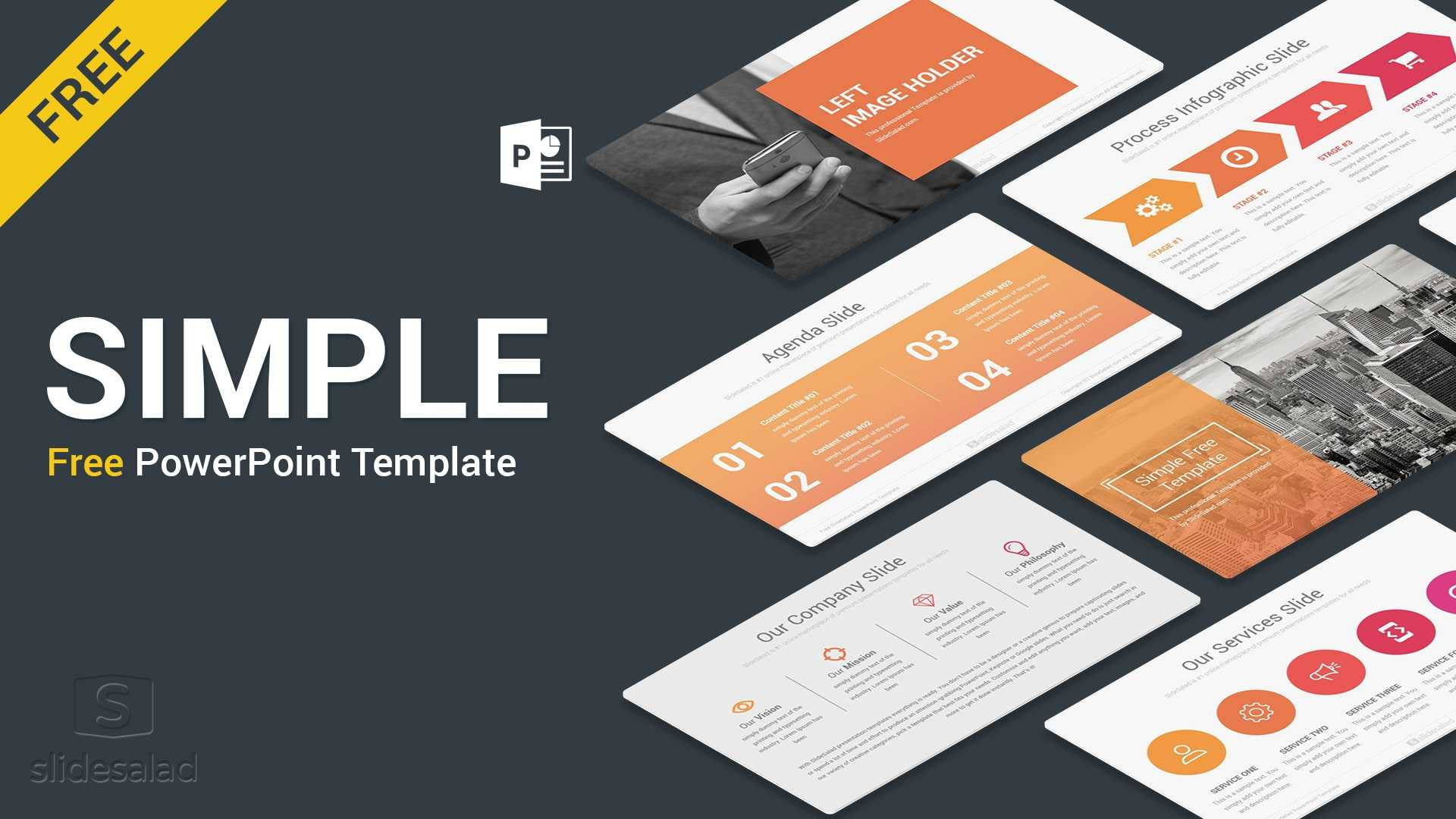 Best Free Presentation Templates Professional Designs 2019 intended for Business Card Template Powerpoint Free