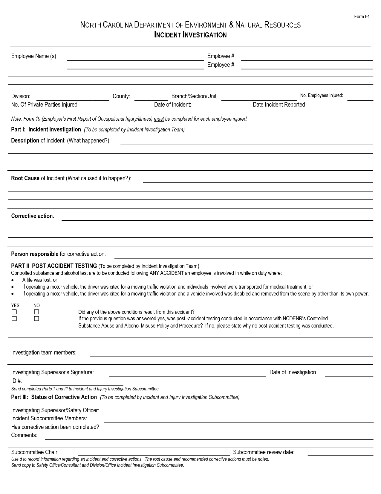 Best Photos Of Human Resources Incident Report Template intended for Ohs Incident Report Template Free