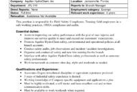 Best Photos Of Internal Job Posting Template Word – Resume regarding Internal Job Posting Template Word