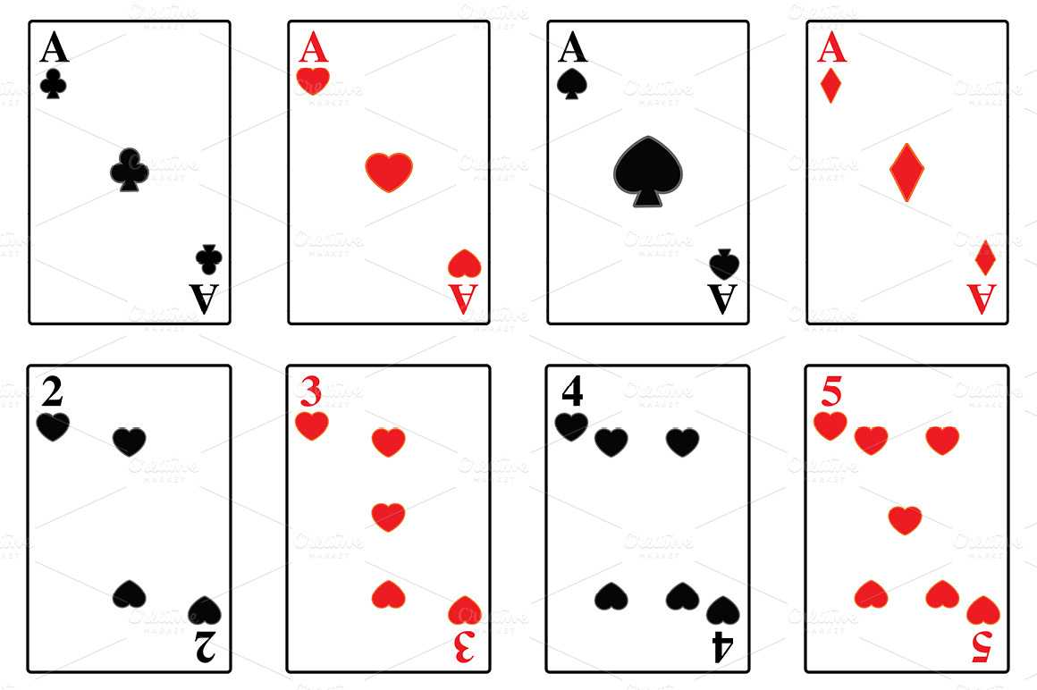 Best Photos Of Playing Card Template - Playing Card Deck throughout Template For Playing Cards Printable