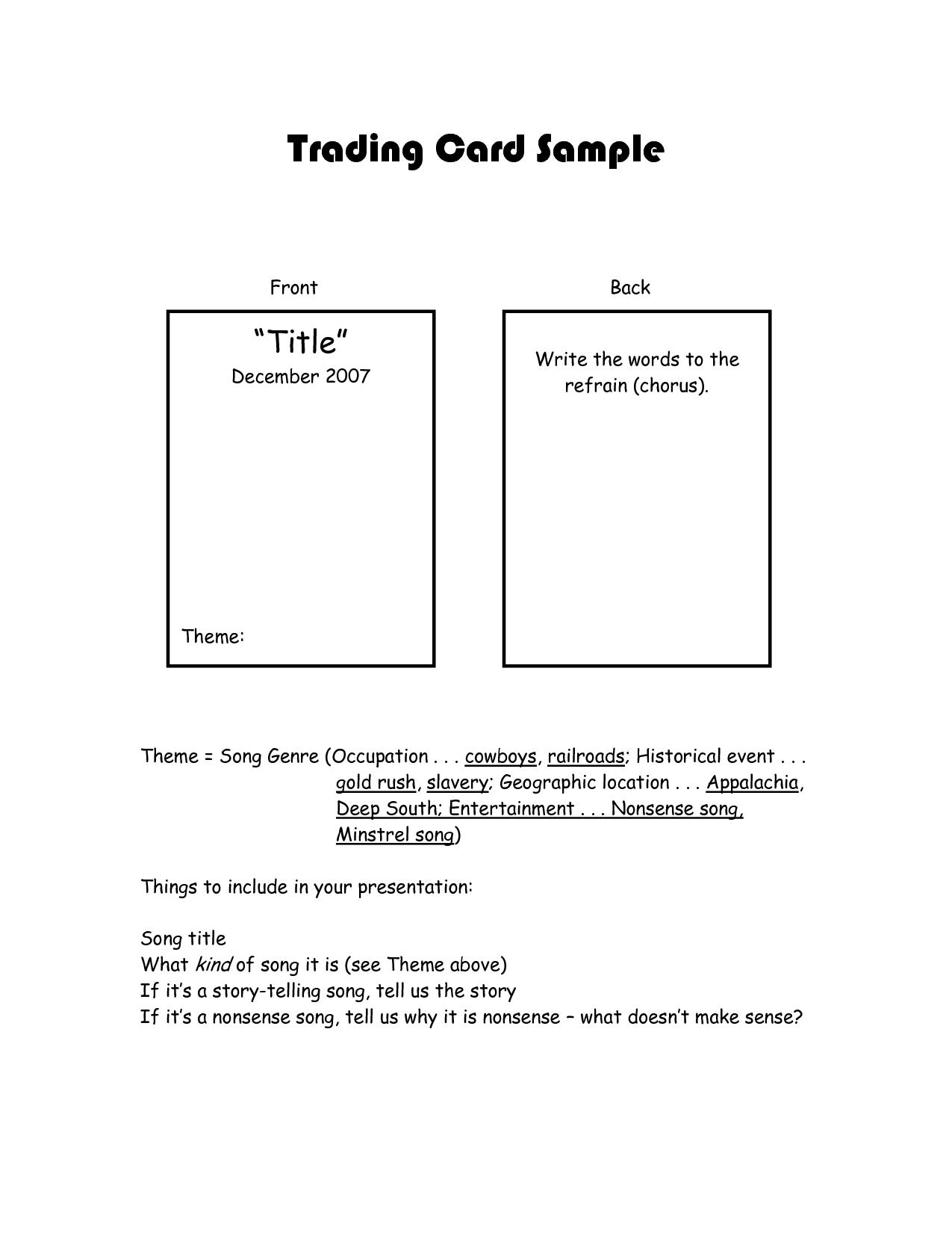 Best Photos Of Trading Card Template For Word - Trading Card intended for Superhero Trading Card Template