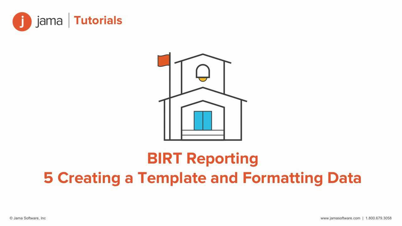 Birt Reporting: Creating A Template And Formatting Data Tutorial For Jama throughout Birt Report Templates