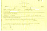 Birth Certificate Template Us Sample New Fabulous 10 Best inside South African Birth Certificate Template