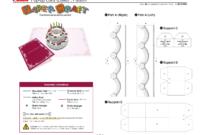 Birthday Cake Pop-Up Card Template | Pop Up Card Templates throughout Wedding Pop Up Card Template Free