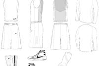 Blank Basketball Jersey Template 12 – 2514 X 2115 – Making inside Blank Basketball Uniform Template