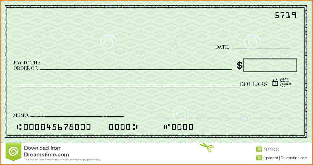 Blank Check Template | Template Business Throughout Fun Blank Cheque Template