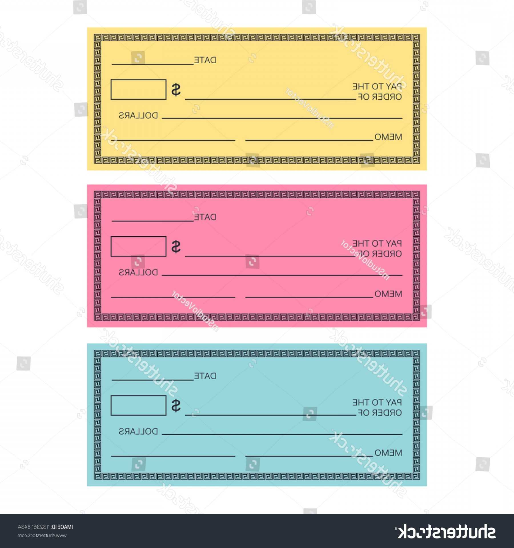 Blank Check Template Vector Banking | Cqrecords for Fun Blank Cheque Template
