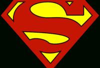 Blank Superman Logos with Blank Superman Logo Template