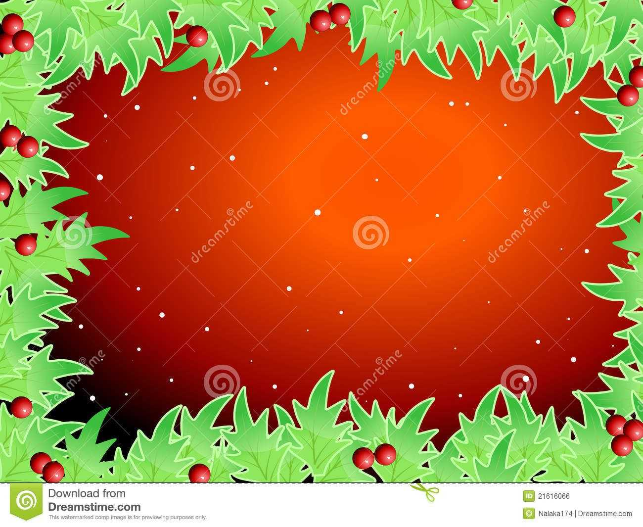 Blank Template For Christmas Greetings Card Royalty Free Pertaining To Blank Christmas Card Templates Free