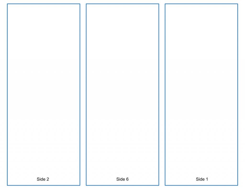 Blank Tri-Fold Brochure Template - Google Slides Free Download intended for Brochure Templates Google Drive