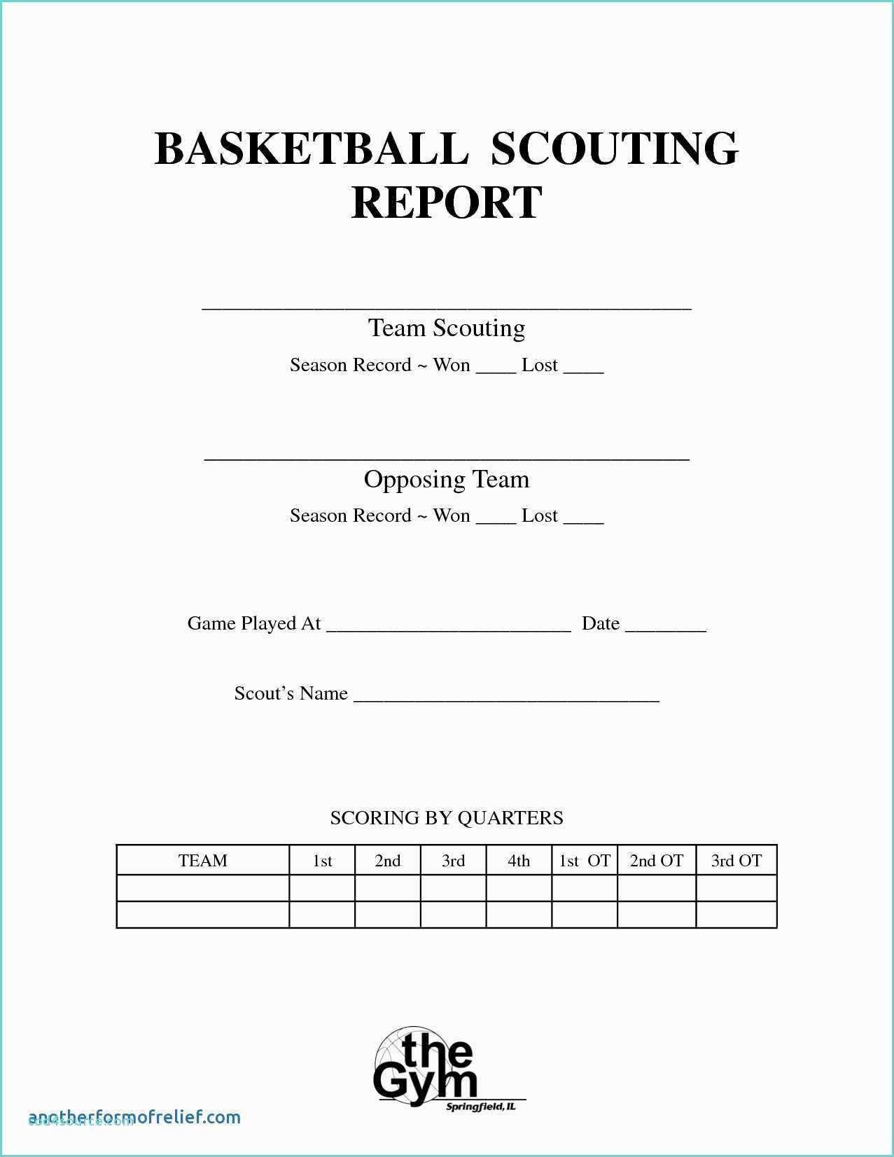 Bowling Spreadsheet And Basketball Scouting Report Template For Basketball Scouting Report Template