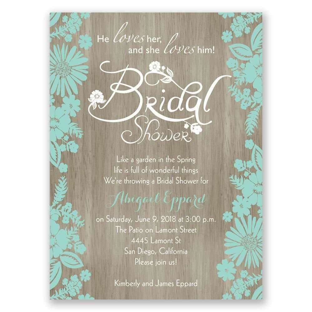 Bridal Shower Invitations Blank Templates | Wedding Shower Intended For Blank Bridal Shower Invitations Templates