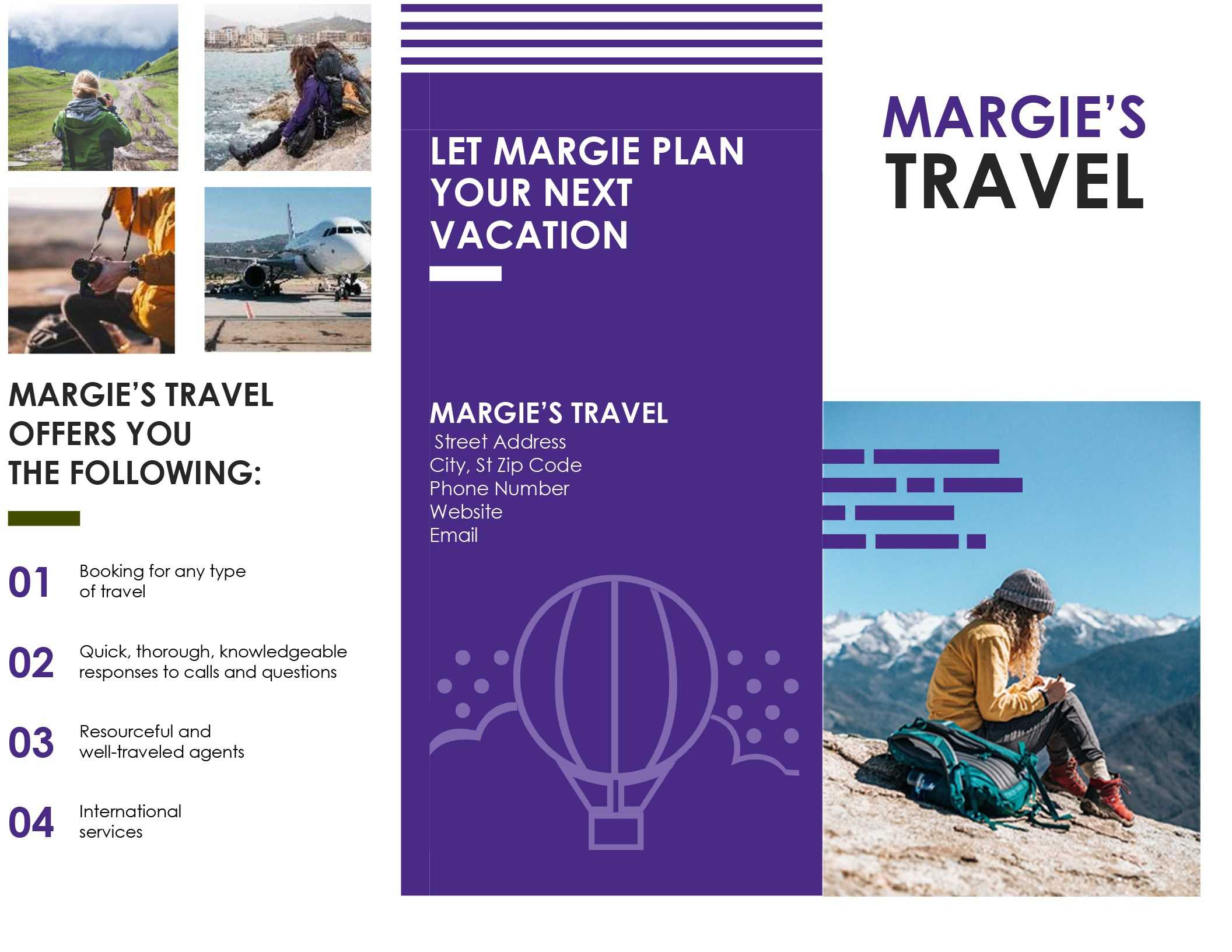 Brochure For Publisher Travel Template Microsoft Tri Fold inside Word Travel Brochure Template