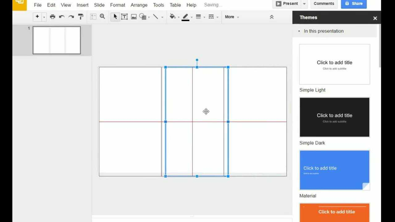 Brochure (Step 1) - Google Slides - Creating A Brochure Pertaining To Brochure Template For Google Docs