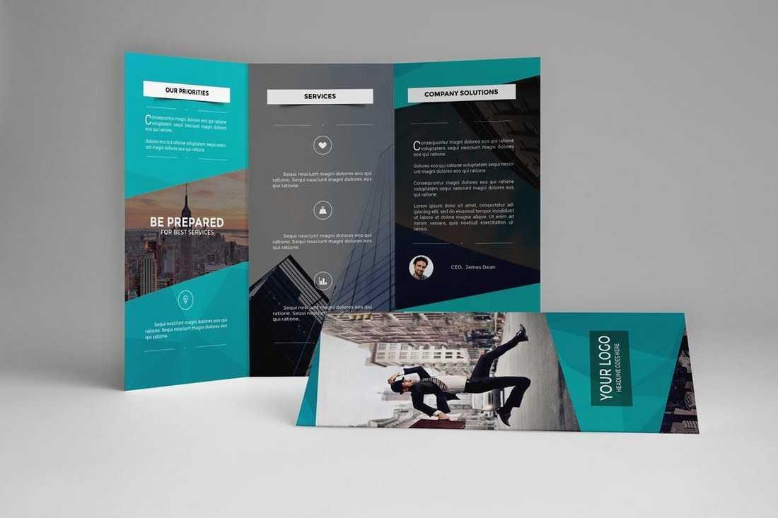 Brochure Templates | Design Shack for E Brochure Design Templates