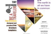 Brochure Travel Template Brochure Travel Templates Brochure with Word Travel Brochure Template