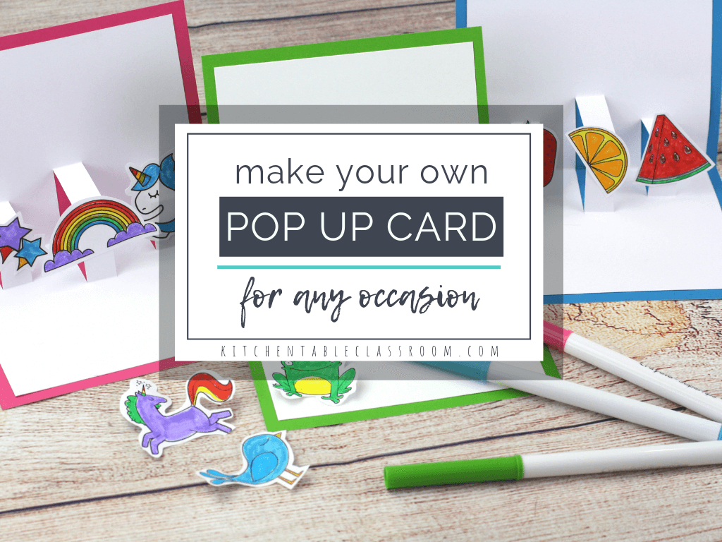 Build Your Own 3D Card With Free Pop Up Card Templates - The with Pop Up Card Templates Free Printable