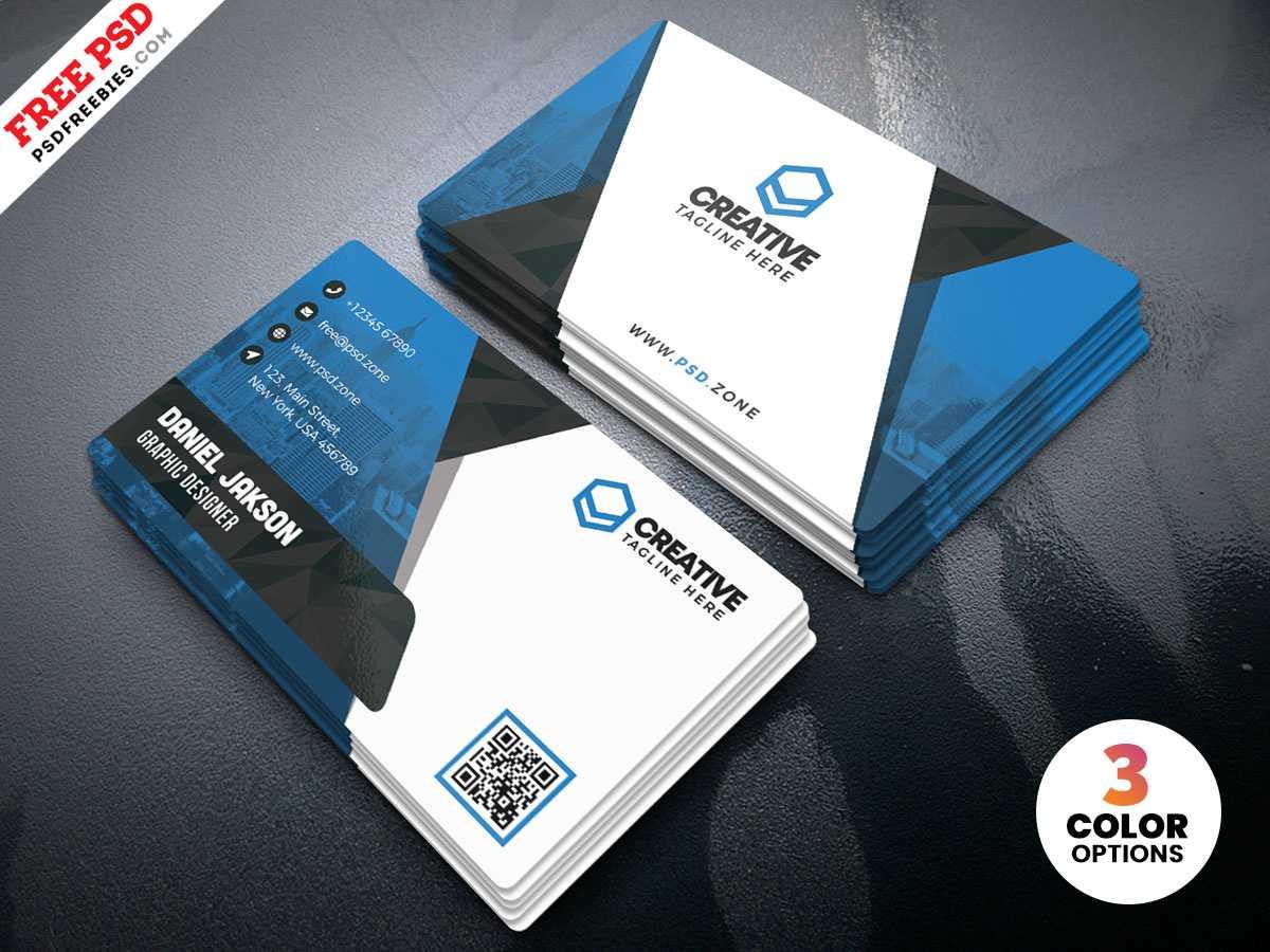 Business Card Design Psd Templatespsd Freebies On Dribbble pertaining to Visiting Card Psd Template