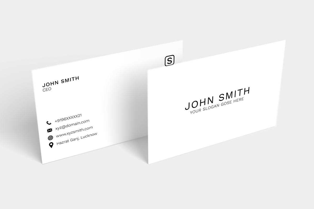 Business Card Photoshop Template Letters Blank Psd Free Within Business Card Size Template Psd