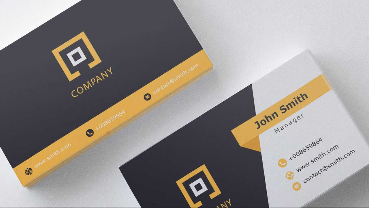 Business Card Template | Free Download | 1 | Throughout Download Visiting Card Templates