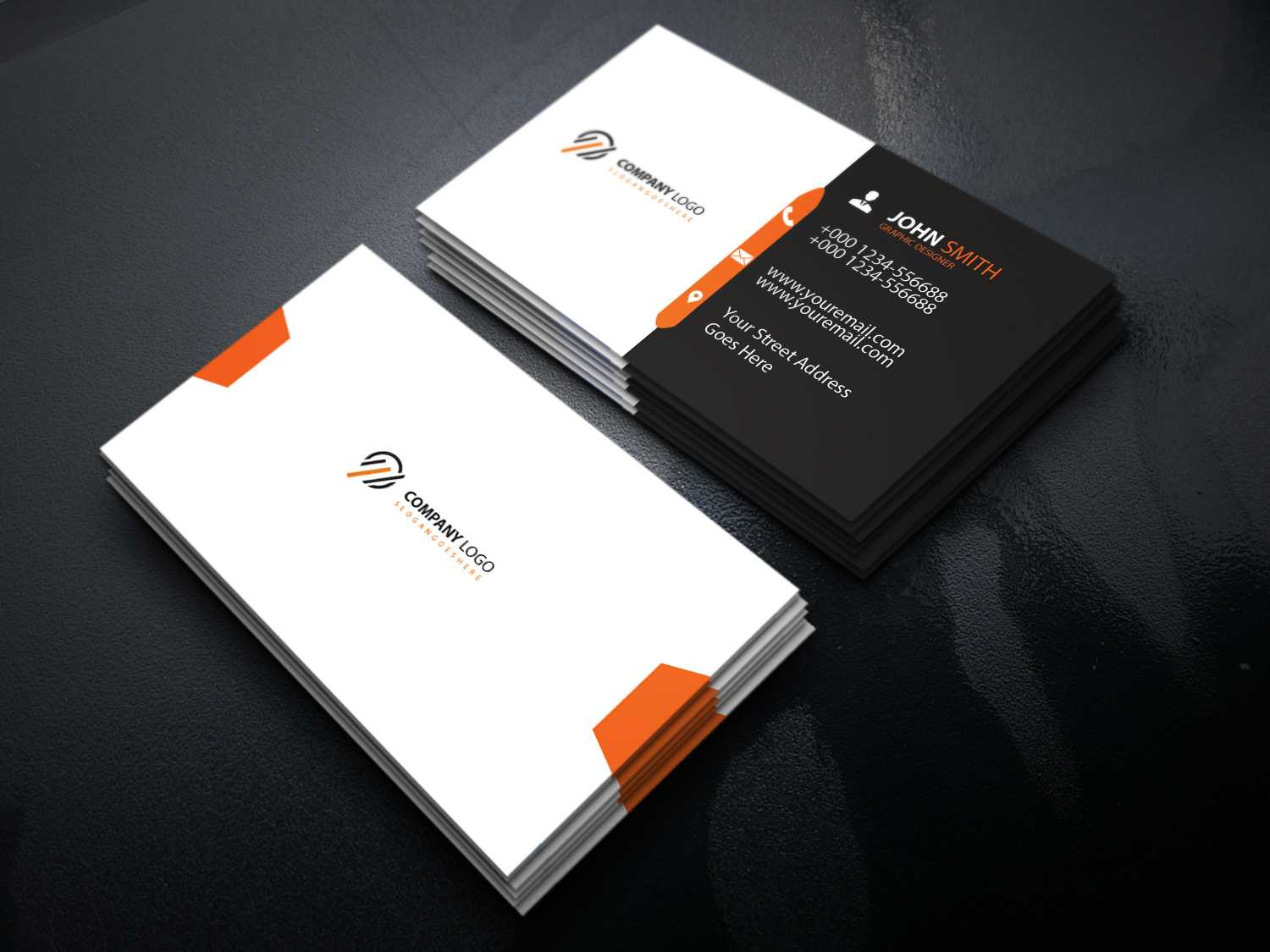 Business Card Template Free Download | Download Business pertaining to Unique Business Card Templates Free