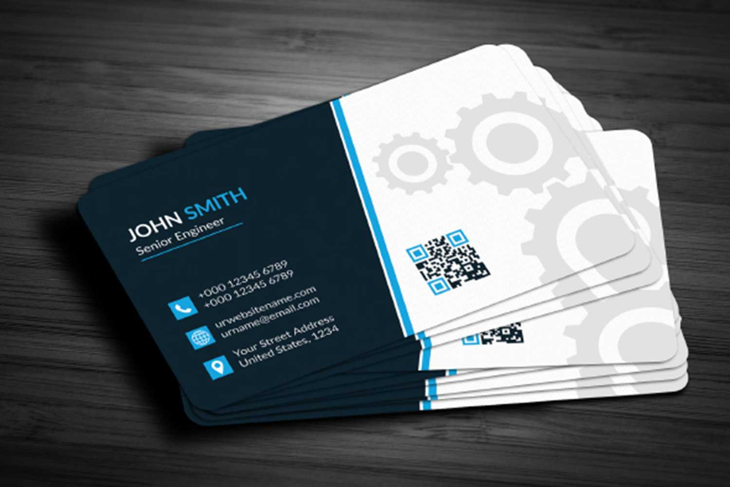 Business Card Template Free Download Maxpoint Hridoy with regard to Business Card Template Powerpoint Free