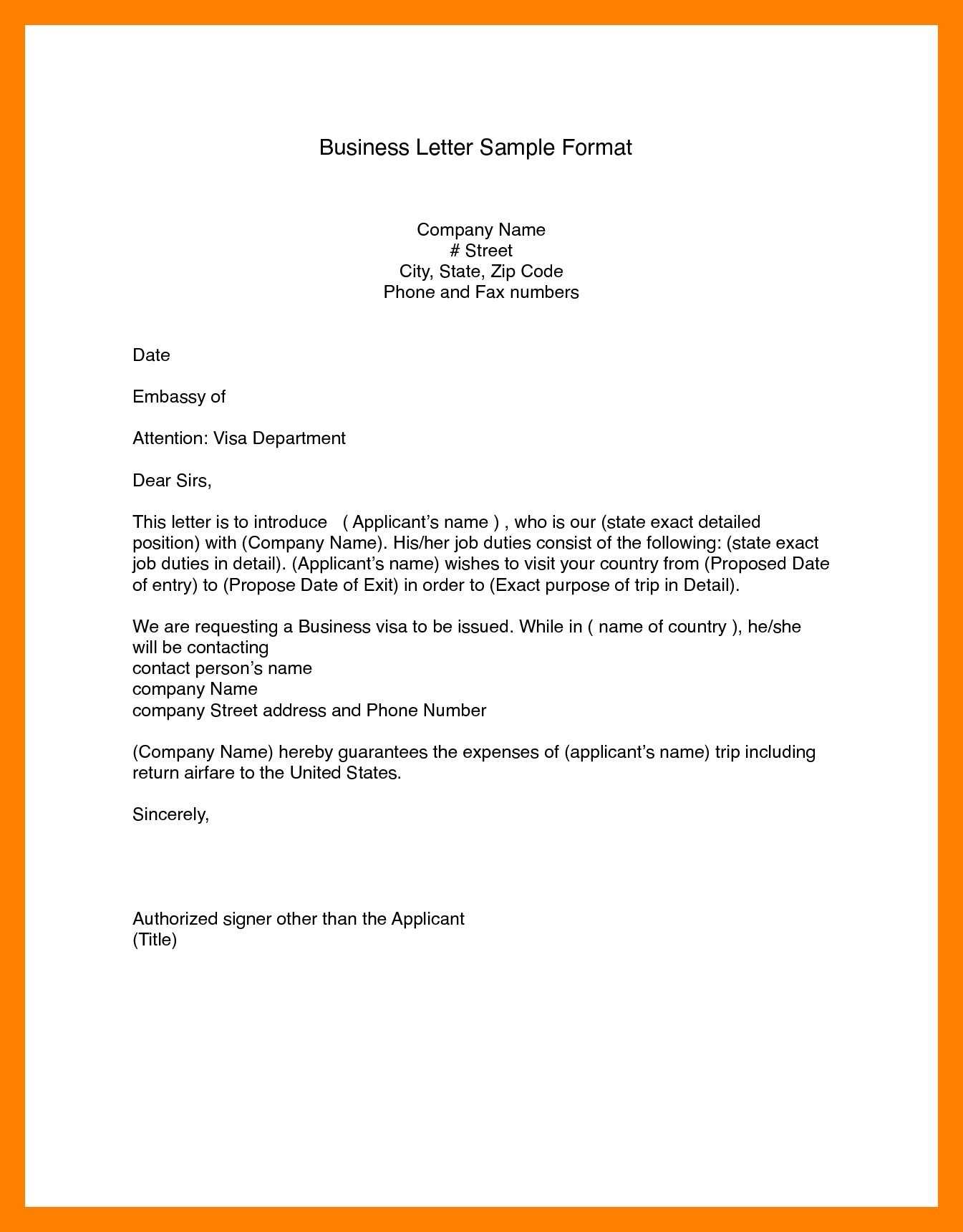 Business Letter Format Word (14)   Bank Statement pertaining to Modified Block Letter Template Word