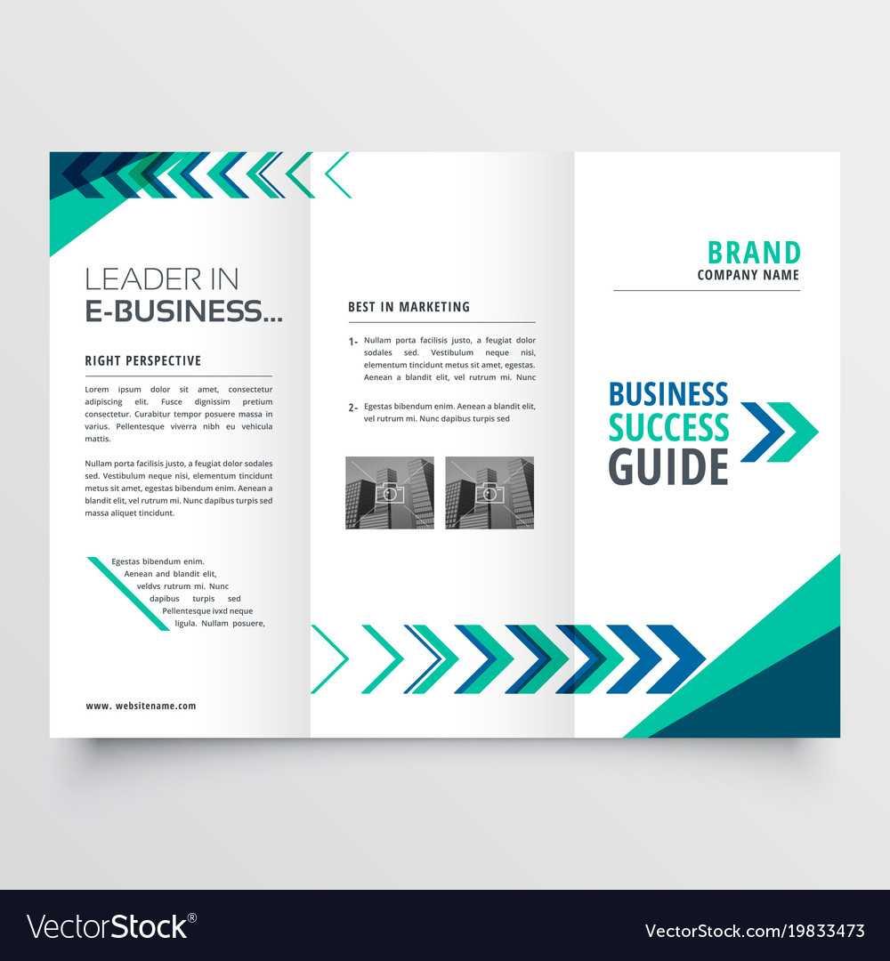 Business Tri Fold Brochure Template Design With pertaining to Tri Fold Brochure Template Illustrator