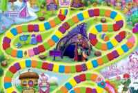 Candyland Board Game Template – Xyztemplates in Blank Candyland Template