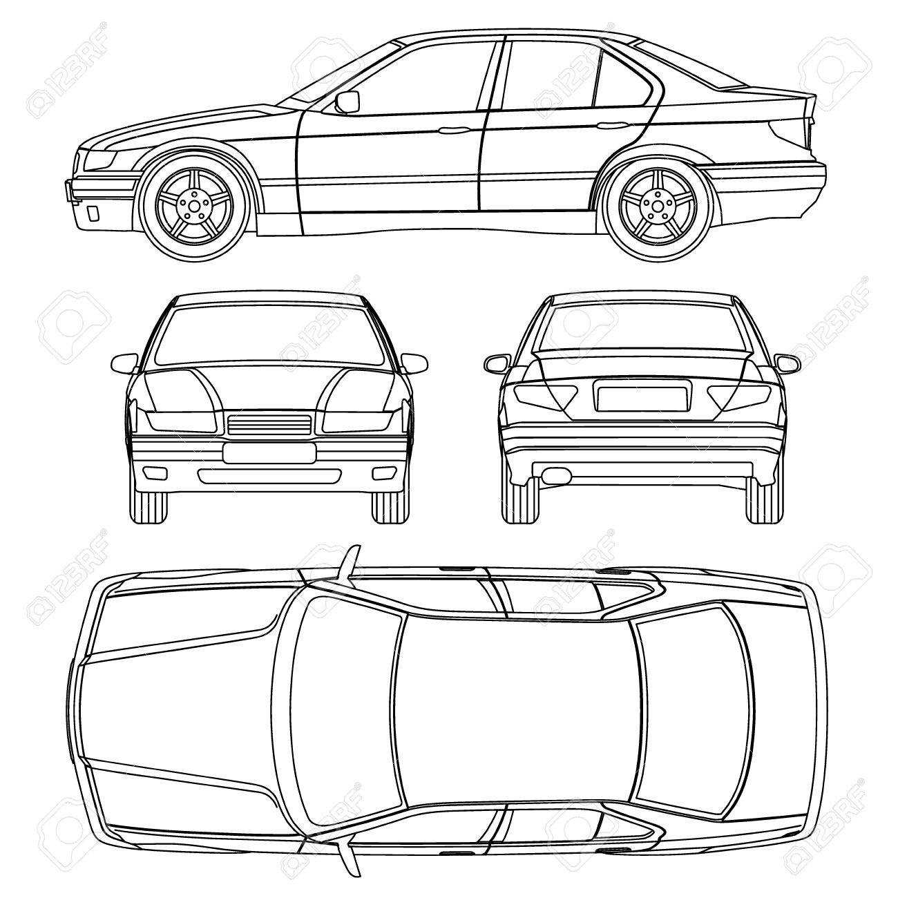 Car Line Draw Insurance Damage, Condition Report Form for Car Damage Report Template