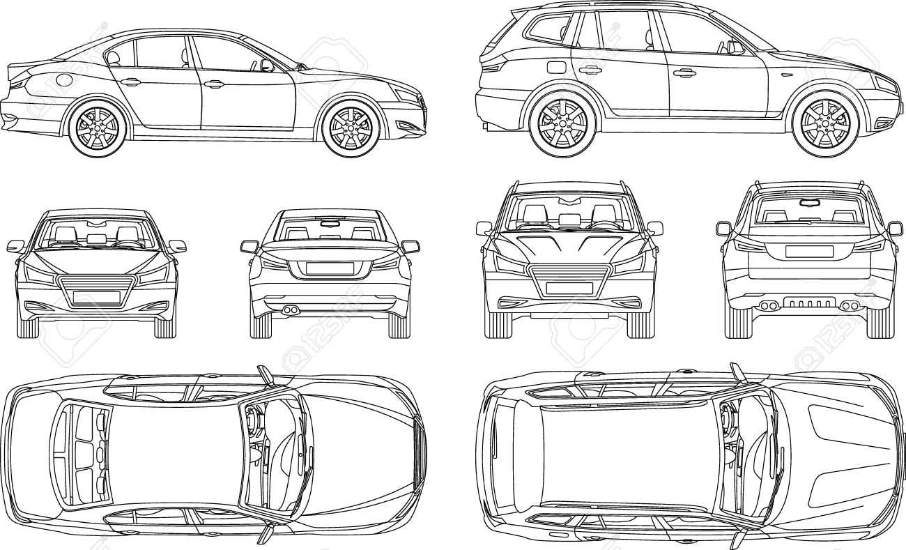 Car Line Draw Insurance, Rent Damage, Condition Report Form Blueprint in Car Damage Report Template