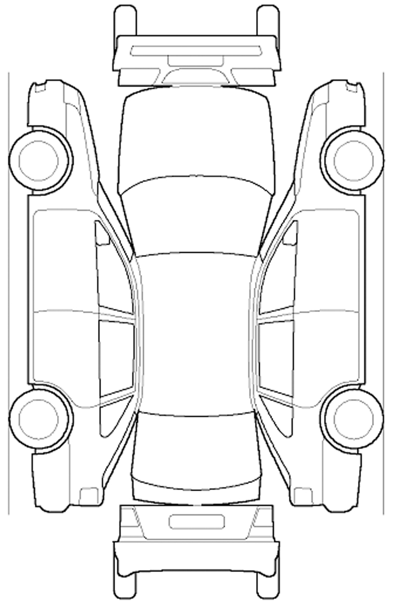 Car Sketch Template At Paintingvalley | Explore inside Car Damage Report Template