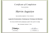 Certificate Examples – Simplecert in Continuing Education Certificate Template