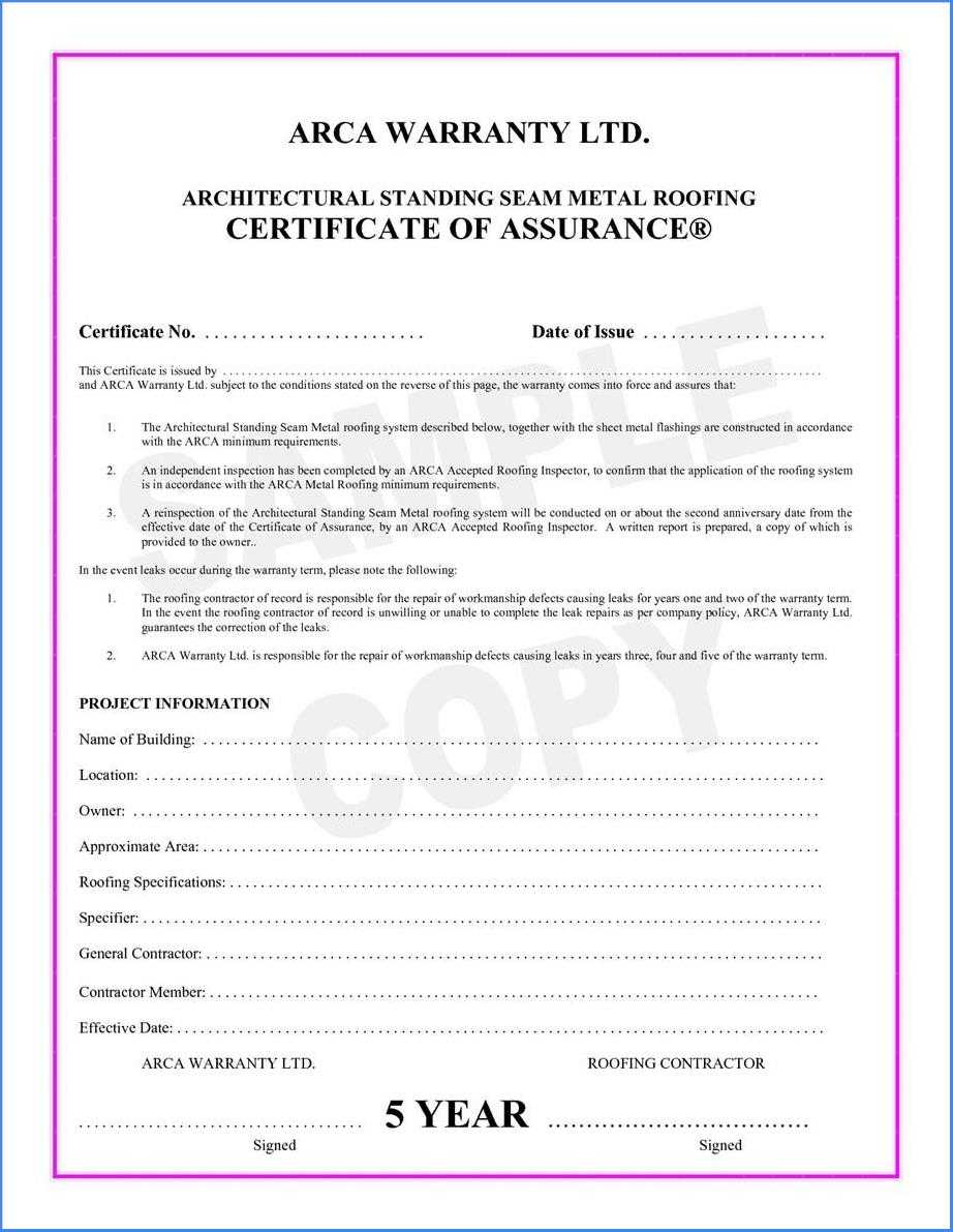 Certificate Of Completion Construction Sample #2562 intended for Certificate Of Completion Construction Templates