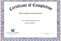 Certificate Template Free Printable – Free Download | Free within Blank Certificate Templates Free Download