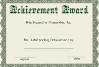 Certificate Templates | Green Award Certificate Powerpoint with Award Certificate Template Powerpoint