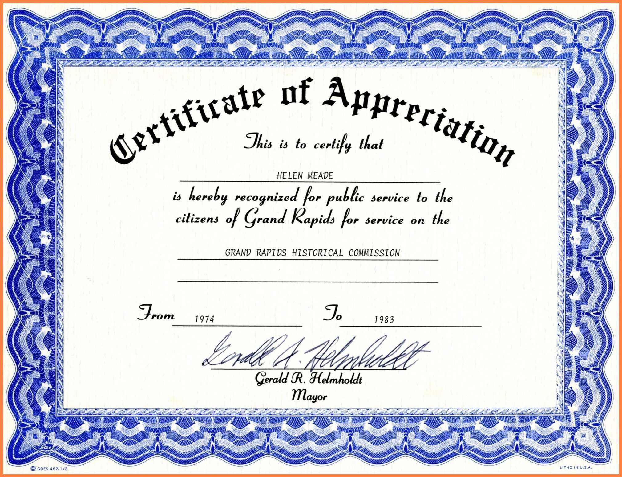 Certificates: Captivating Certificate Template Word Ideas With Professional Certificate Templates For Word