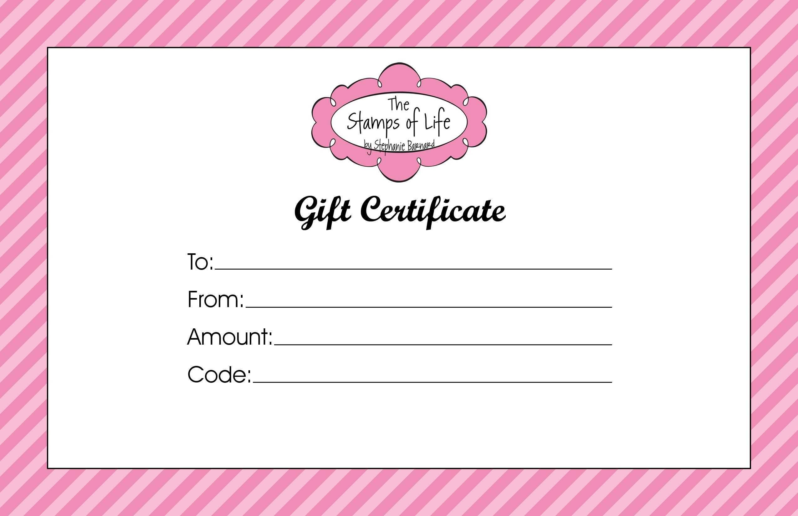 Certificates. Fascinating Gift Certificate Template Word in Salon Gift Certificate Template