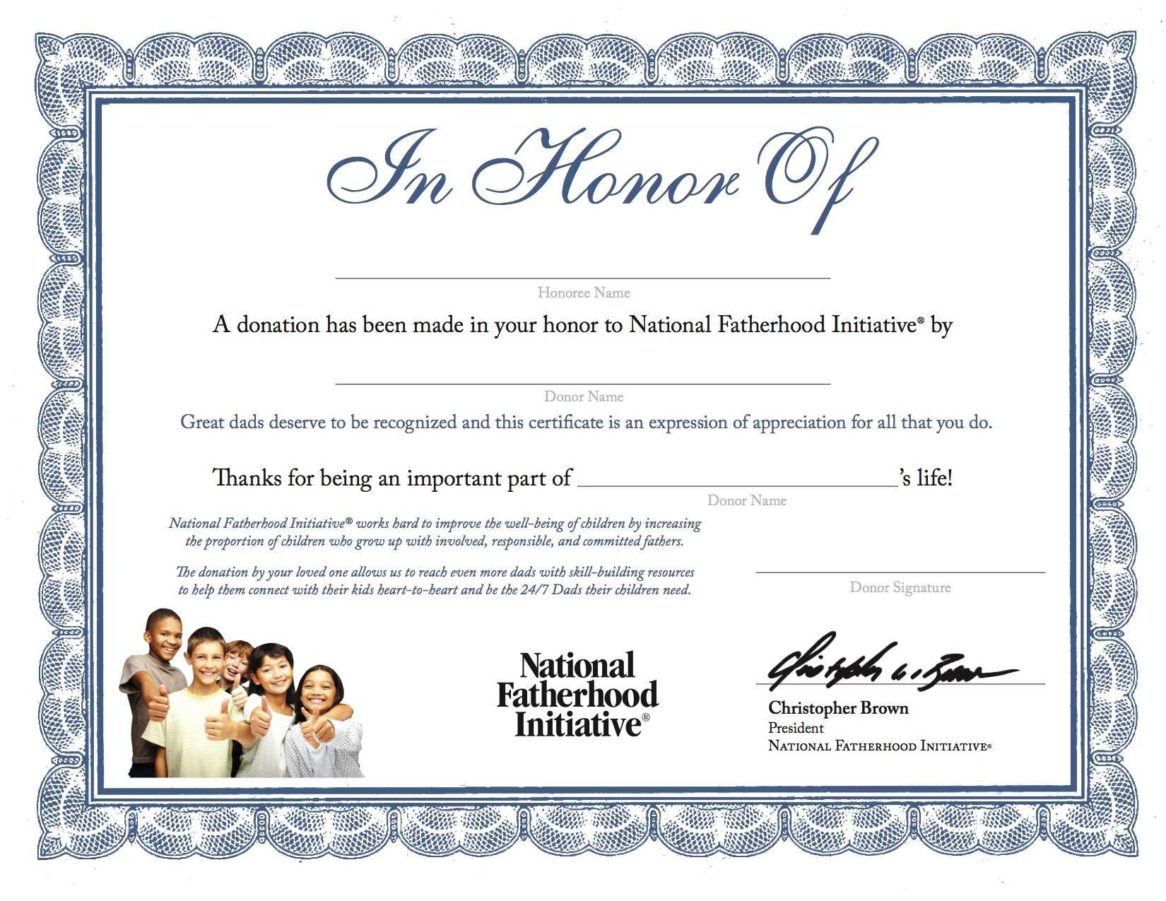 Certificates: Marvellous Donation Certificate Template for Donation Certificate Template