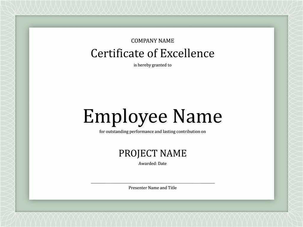 Certificates: New Good Work Certificate Templates Designs inside Good Job Certificate Template