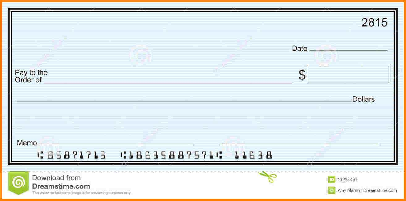 Checks Template Word | Template Business Throughout Blank Check Templates For Microsoft Word