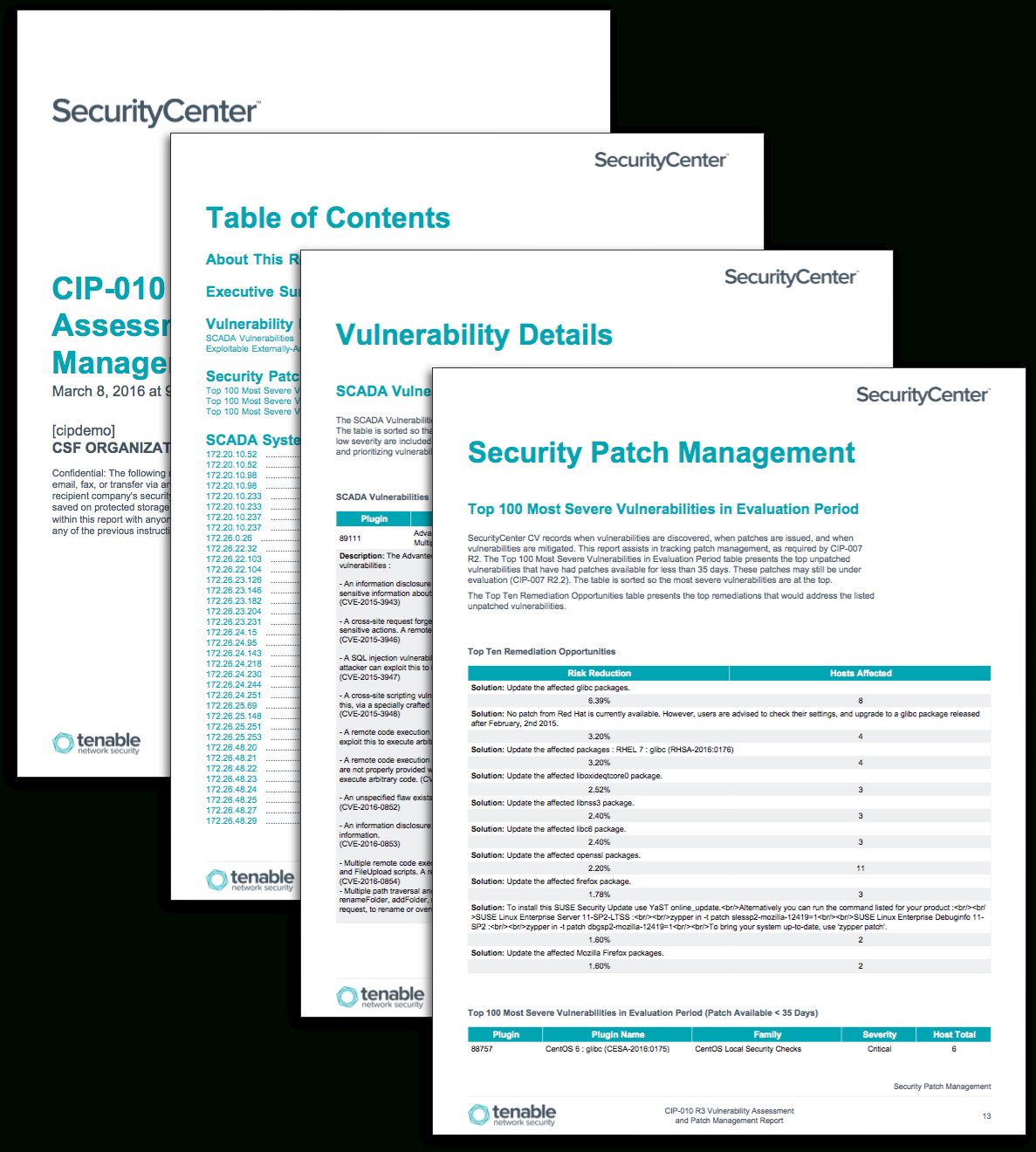 Cip 010 R3 Vulnerability Assessment And Patch Management Intended For Reliability Report Template