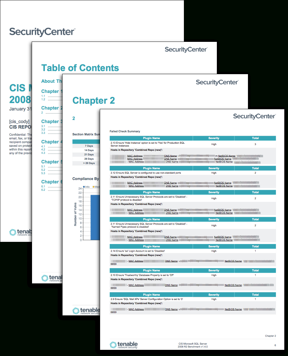 Cis Relational Database System Benchmarks - Sc Report intended for Baseline Report Template