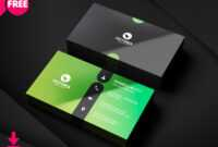 Clean Business Card, Minimalist Business Card Template Free With Unique Business Card Templates Free